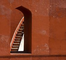Through the red window... by imperfecteye