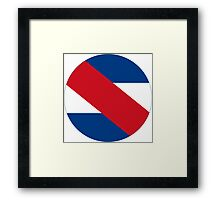 Uruguayan Air Force - Roundel Framed Print