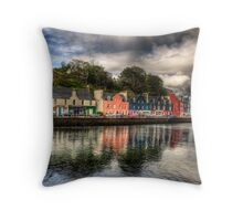 Tobermory Bay Throw Pillow
