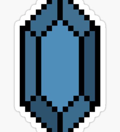 Blue Rupee Sticker