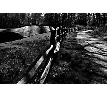 Rustic Fence Photographic Print