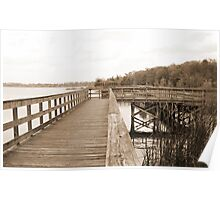 Lake Ashby Boardwalk Poster