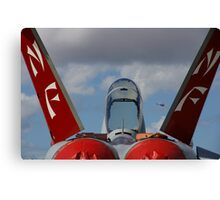 Fighter Profile - The Sting Of The Hornet Canvas Print