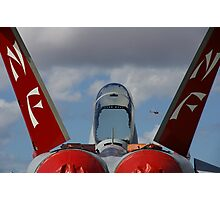 Fighter Profile - The Sting Of The Hornet Photographic Print