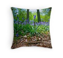 Rollei-ing on the Forest Floor Throw Pillow