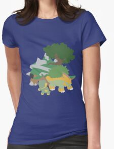 Turtwig Evolution Womens Fitted T-Shirt