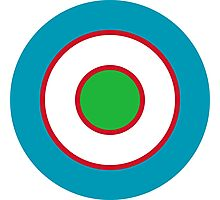 Uzbekistan Air and Air Defence Forces - Roundel Photographic Print
