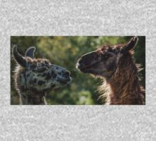 Sweet Llamas One Piece - Long Sleeve