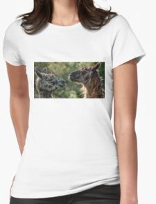 Sweet Llamas Womens Fitted T-Shirt