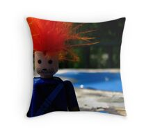 it was quiet... maybe too quiet. Throw Pillow