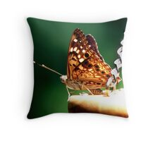 Swinging the day away Throw Pillow