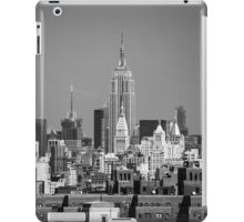 Empire State Building from Brooklyn Bridge iPad Case/Skin