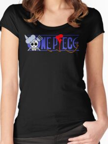 Sanji's logo one piece Women's Fitted Scoop T-Shirt