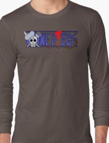 Sanji's logo one piece Long Sleeve T-Shirt