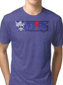 Sanji's logo one piece Tri-blend T-Shirt