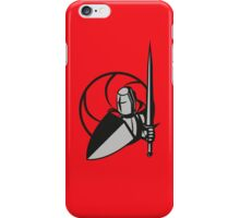Knight ready to fight iPhone Case/Skin