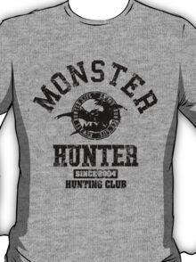 Monster Hunter - Hunting Club (dark grunge effect) T-Shirt