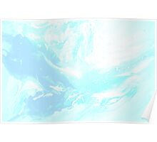 Ambient Blue Light Poster