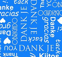 Thank You in Many European Languages by CreativeTwins