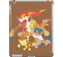 Chimchar Evolution iPad Case/Skin