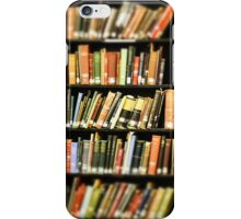 Library Books iPhone Case/Skin