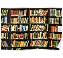 Library Books Poster