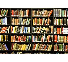 Library Books Photographic Print