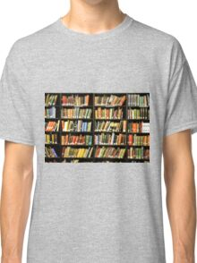 Library Books Classic T-Shirt