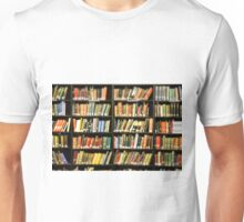Library Books Unisex T-Shirt