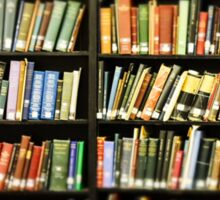 Library Books Sticker