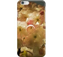 Cherry Blossom in Retro iPhone Case/Skin