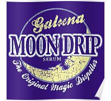 Galuna Moon Drip Poster