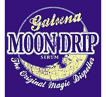 Galuna Moon Drip Photographic Print