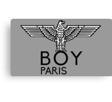 BOY PARIS Canvas Print
