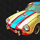 Triumph GT Pop Art by Edward Fielding