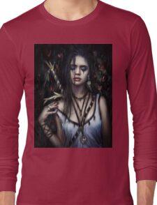 In the Rose Garden Long Sleeve T-Shirt