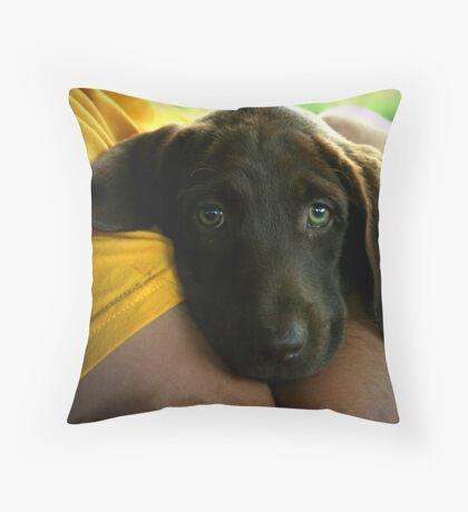 FEARFUL Throw Pillow