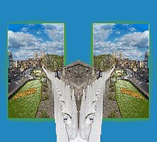 York. Double take in blue. by Robert Gipson