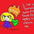 Skippygirlgraphics - Where I live - A Postcard by skippygirlgraphics