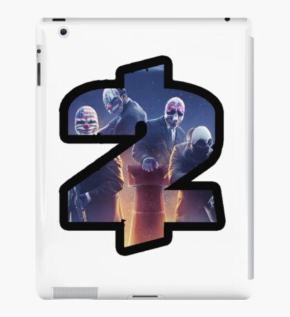Payday 2 Logo Design #1 iPad Case/Skin