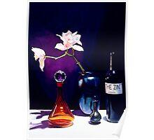 """The Zin"" Still Life Watercolor Poster"