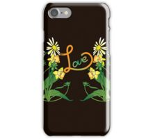 Daisies and daffodils iPhone Case/Skin