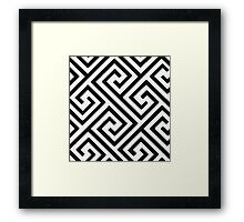 The Impossible Maze Framed Print
