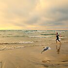 The Girl and The Seagull by Yannik Hay