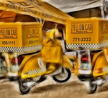 Pizza Delivery by zabcoloma