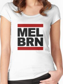 MELBRN Women's Fitted Scoop T-Shirt
