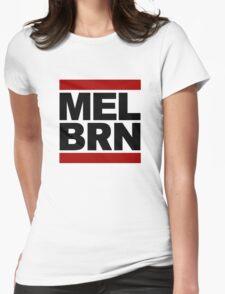 MELBRN Womens Fitted T-Shirt