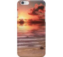 End of Day - Kincardine, Lake Huron, Ontario iPhone Case/Skin