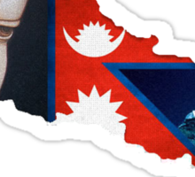 Pray for Nepal Sticker