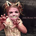 Cheshire Cat by Julia  Thomas